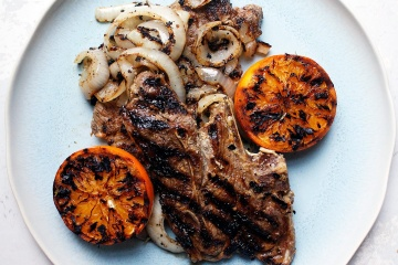 Curried Grilled Lamb Chops